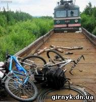 Вблизи Новогродовки детвора чуть не пустила под откос пассажирский поезд