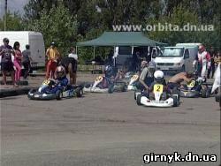 В Красноармейске прошли гонки на картингах, за рулем которых находились юные автогонщиков (фото)