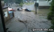потоп в Донецке