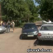 В Красноармейске столкнулись три автомобиля