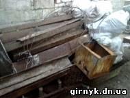 В Доброполье ликвидирован очередной незаконный пункт приема металлолома